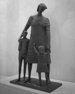 Statue inside the National War Memorial