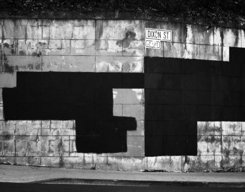 Suprematist graffiti