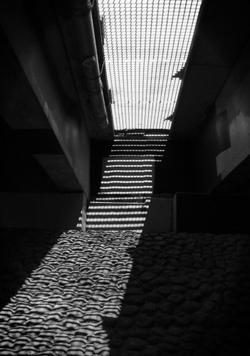 Rippled underpass light