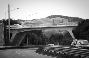 Helston Road overbridge