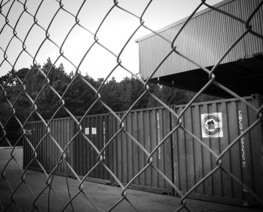 Fenced containers