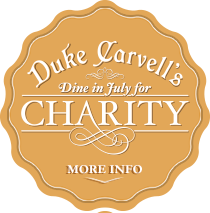 dine at Duke's for charity