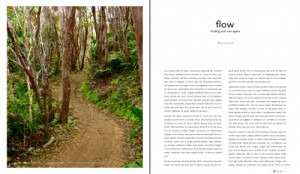 Sample article page from Journey