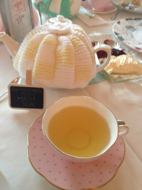 teapot at Sweet pea