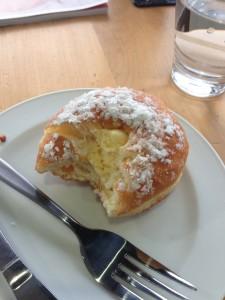 Tugboat custard donut