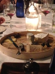 LCB cheese platter