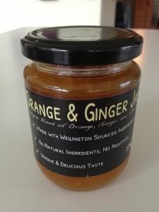 orange and ginger jam