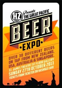 pacifc beer expo poster