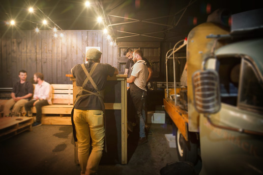 The Goose Shack food truck will be a regular site in the outdoor space offering bites to balance the beer consumption