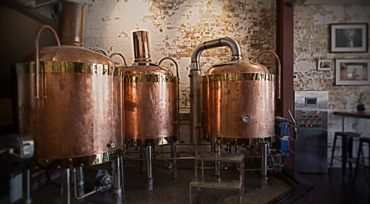 Sexy copper brew kit
