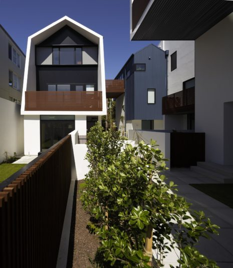 Zavos Corner courtyard