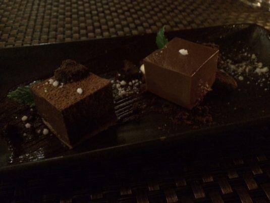 chocolate two ways
