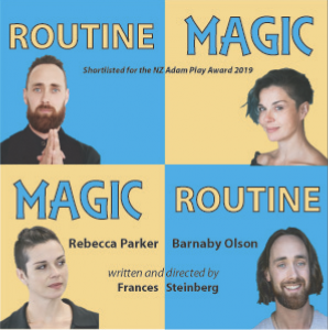 Promotional poster for Routine magic, magic routine